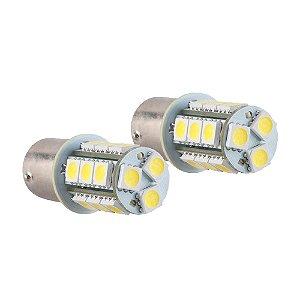 Par Lâmpadas KX3 LED 18 Pontos 2 Polos