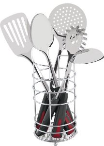 Conjunto De Utensílios Para Cozinha Mor Em Inox 6 Peças