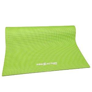 Tapete Yoga Proaction Mat PVC Verde