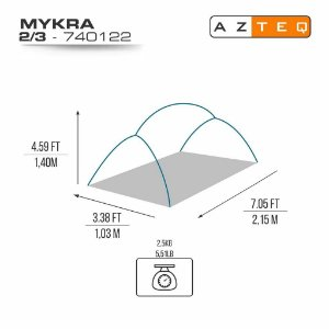 BARRACA MYKRA 2/3P
