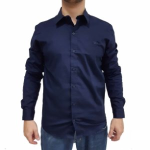 Camisa Social Manga Longa Polo RG518 Tricoline