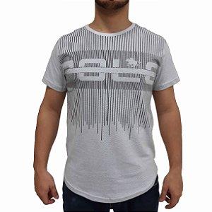 KIT com 3 Camisetas Polo RG518 de Malha Listras SWAG