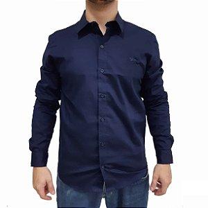 KIT com 3 Camisas Social Manga Longa Polo RG518 Tricoline