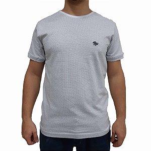 KIT com 3 Camisetas Polo RG518 de Malha Logo Metalizado
