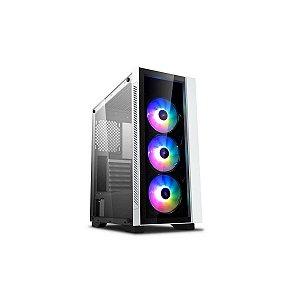 Gabinete Gamer Deepcool Matrexx 55 V3 ADD-RGB Branco - DP-ATX-MATREXX55V3-AR-WH-3F