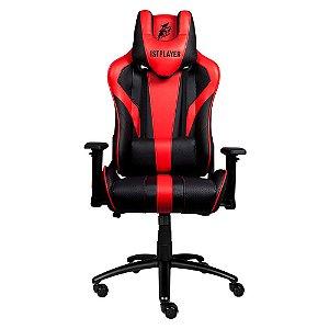 Cadeira Gamer 1STPLAYER FK1 Black and Red - FK1BLACKANDRED