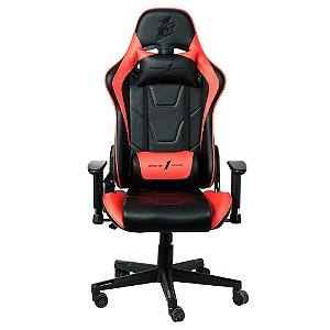 Cadeira Gamer 1STPLAYER FK2 Black and Red - FK2BLACKANDRED