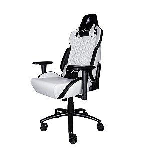Cadeira Gamer 1STPLAYER DK2 Black and White - DK2BLACKANDWHITE