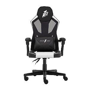 Cadeira Gamer 1STPLAYER P01 Black and White - P01BLACKANDWHITE