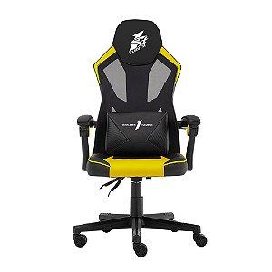 Cadeira Gamer 1STPLAYER P01 Black and Yellow - P01BLACKANDYELLOW