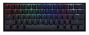 Teclado Mecânico Ducky Channel One 2 Mini v2 RGB Backlit Kailh Box White - DKON2061ST-KUSPDAZTW