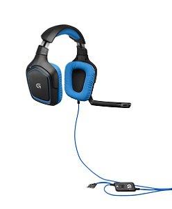 Headset Gamer Logitech G430 7.1 981-000551