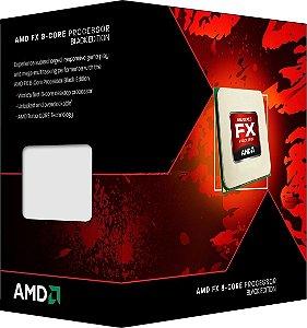 Processador AMD Black Edition FX 8320E Octa Core 3.2GHz (4.0GHz Max Turbo) 16MB AM3+ FD832EWMHKBOX