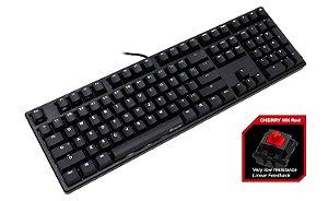 Teclado Mecânico Ducky Channel ONE Switch Vermelho Iluminação Branca (DKON1508S-RUSPDAAW1)