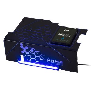 Cover PSU Rise ICE COLD SSD Led Azul - RM-CP-02-IC
