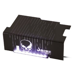Cover PSU Rise SKULL Led Branco - RM-CP-01-CA