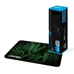 MousePad Rise Gaming CIRCUIT Grande COSTURADO - RG-MP-05-CRT