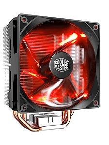 Cooler para processador Air Cooler Master Hyper 212 LED Vermelho RR-212L-16PR-R1