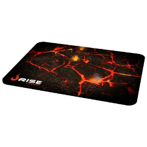 MousePad Rise Gaming VOLCANO Grande Costurado RG-MP-05-VO