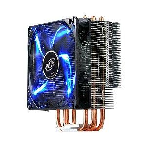 Cooler para Processador DeepCool GAMMAXX 400 Led Azul