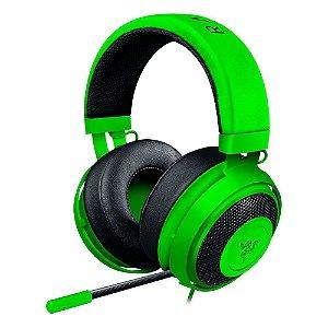 Headset Gamer Razer com Microfone KRAKEN PRO V2 GREEN