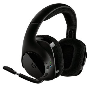 Headset Gamer Logitech com Microfone WiFi G533