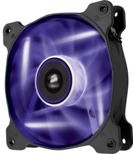 Case Fan Corsair AIR SERIES AF120 QUIET EDITION COM LED ROXO - 120MM X 25MM