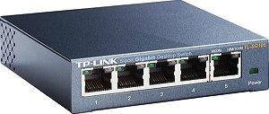 Switch 5 Portas Tp-Link GIGABIT DE MESA 10/100/1000 TL-SG105