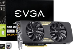 Placa de Video EVGA NVIDIA GEFORCE GTX 980 TI SC + ACX 2.0 6GB GDDR5 384 BITS - 06G-P4-4995-KR