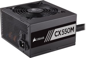 Fonte Corsair ATX 550W CX550M SEMI-MODULAR 80PLUS BRONZE