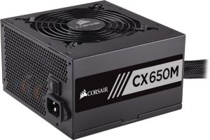 Fonte Corsair ATX 650W CX650M SEMI-MODULAR 80PLUS BRONZE