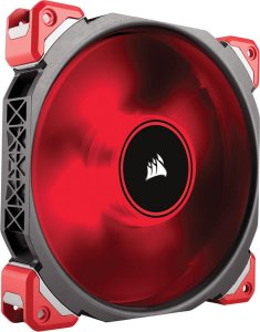 Case Fan Corsair ML140 PRO 140MM LED VERMELHO PWM