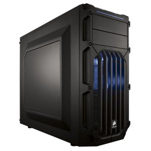 Gabinete Corsair MID TOWER GAMING CARBIDE SERIES SPEC-03 LED AZUL MINI ITX, MICRO ATX E ATX CC-9011058-WW