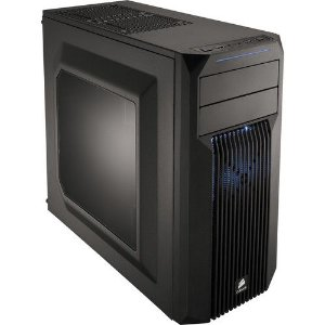 Gabinete Corsair MID TOWER GAMING CARBIDE SERIES SPEC-02 LED AZUL CC-9011057-WW