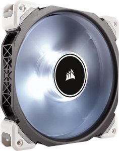 Case Fan Corsair ML140 PRO 140MM COM LED BRANCO PWM