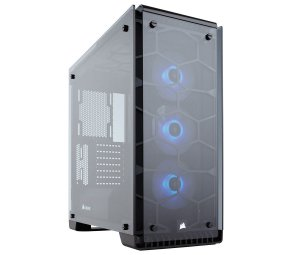 Gabinete Corsair MID TOWER GAMING CRYSTAL SERIES 570X RGB MINI-ITX, MICROATX, ATX CC-9011098-WW - CORSAIR