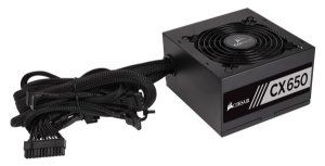 Fonte Corsair ATX 650W CX650 80 PLUS BRONZE 12V CP-9020122-WW