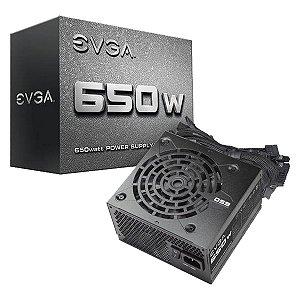 Fonte EVGA ATX 650W 100-N1-0650-L0