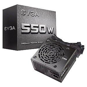 Fonte EVGA ATX 550W 100-N1-0550-L0