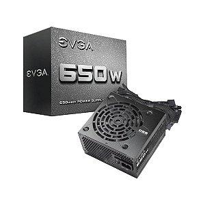Fonte EVGA ATX 650W 100-N1-0650-L1