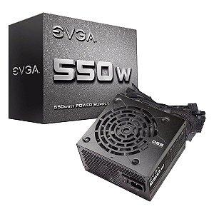 Fonte EVGA ATX 550W 100-N1-0550-L1