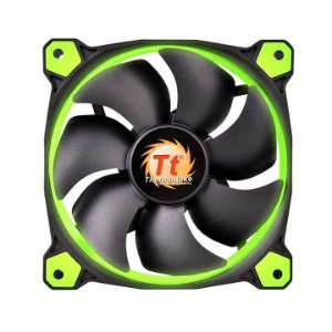 Case Fan Thermaltake Riing 12 Radiator Fan Led Green 1500RPM CL-F038-PL12GR-A