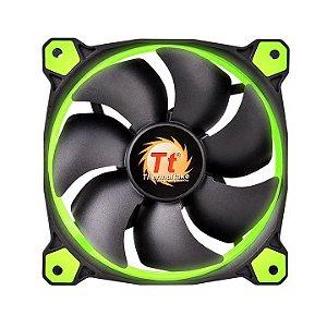 Case Fan Thermaltake Riing 12 Radiator Fan Led Green 1500RPM CL-F038-PL12GR-A