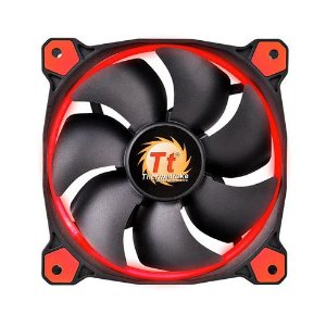 Case Fan Thermaltake Riing 12 Radiator Fan Led Red 1500RPM CL-F038-PL12RE-A