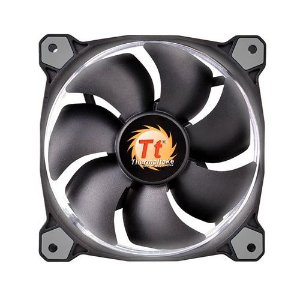 Case Fan Thermaltake Riing 12 Radiator Fan Led White 1500RPM CL-F038-PL12WT-A