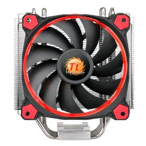 Cooler Para Processador Thermaltake Riing 12 Silent Red 1400RPM Led CL-P022-AL12RE-A