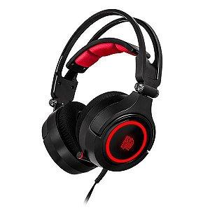 Headset Gamer Thermaltake  TteSports CRONOS RIING RGB 7.1 DIGITAL 3D HT-CRA-DIECBK-20