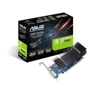 Placa de Video ASUS GEFORCE GT 1030 LP 2GB DDR5 64 BITS - GT1030-SL-2G-BRK