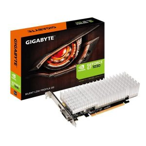 Placa de Video GIGABYTE GEFORCE GT 1030 SILENT LP 2GB DDR5 64 BITS - GV-N1030SL-2GL - ESP