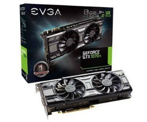 Placa de Video EVGA GEFORCE GTX 1070 TI SC GAMING 8GB DDR5 - 08G-P4-5671-KR